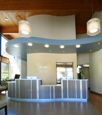 North Coast Orthodontics - office interior design