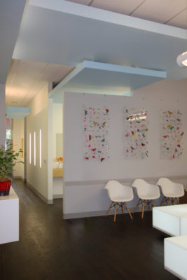 Modern Orthodontics Office interior design