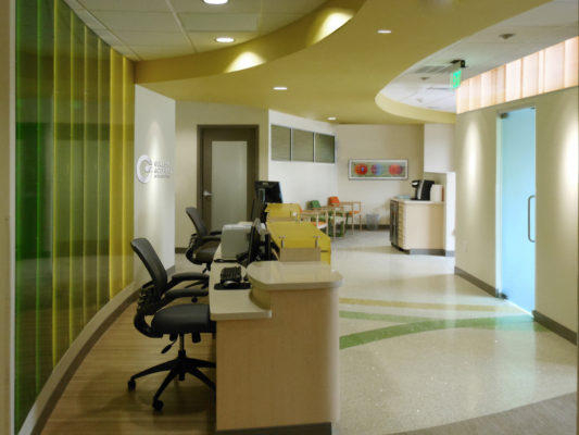 Geller & Cohen Orthodontics interior design