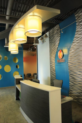 Parks Orthodontics interior design